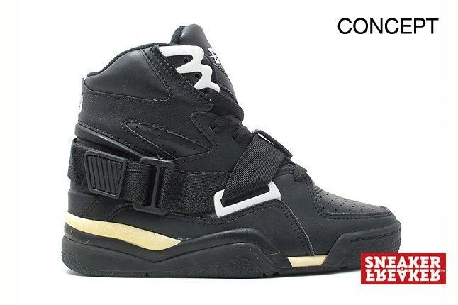 Ewing Sneakers Concept Black 1