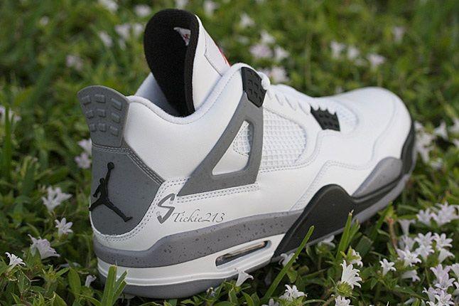 Air Jordan Cement 4 8 1