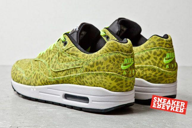 Nike Air Max 1 Fb Yell Leopard 2013 1