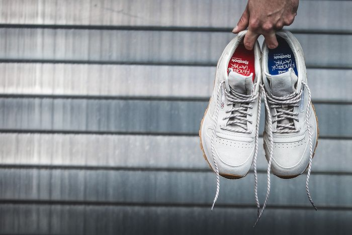 Kendrick Lamar X Reebok Classic Leather Blue And Red3