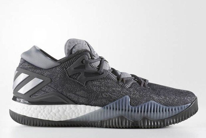 Adidas Crazylight Boost 2016 Grey Silver 3