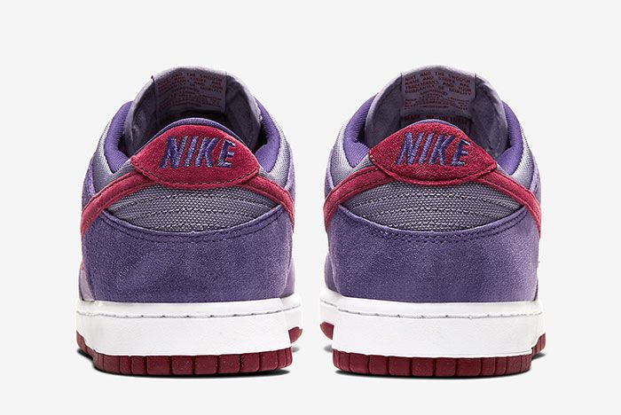 Nike Dunk Low Plum Cu1726 500 Heel