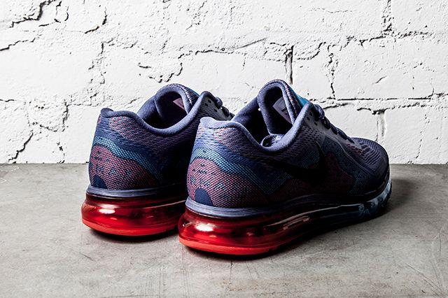 Nike Air Max 2014 Blue Recall Light Crimson 3