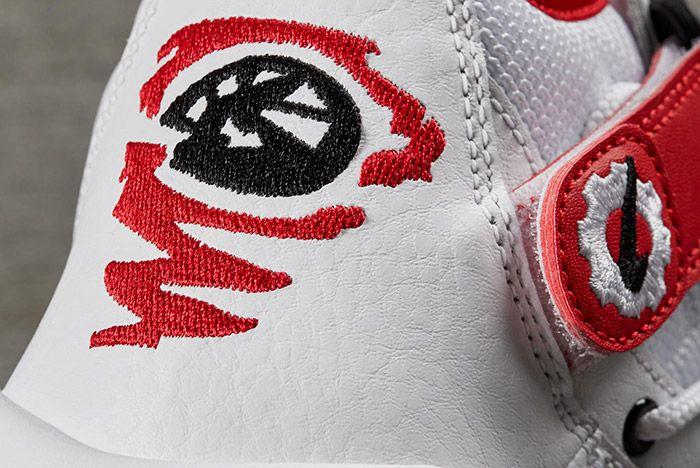 Nike Air Shake Ndestrukt Retro White Red 1