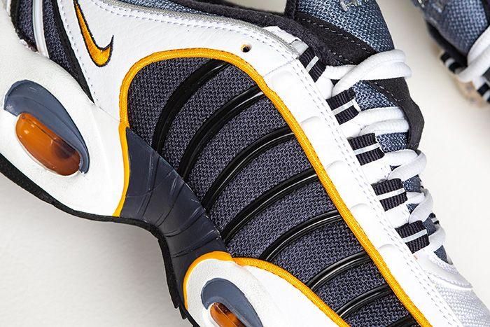 Nike Air Max Tailwind 4 Navy Gold Aq2567 200 Release Date Closeup