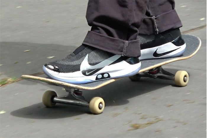 Jenkem Skating Nike Adapt Bb Shoes Back To The Future