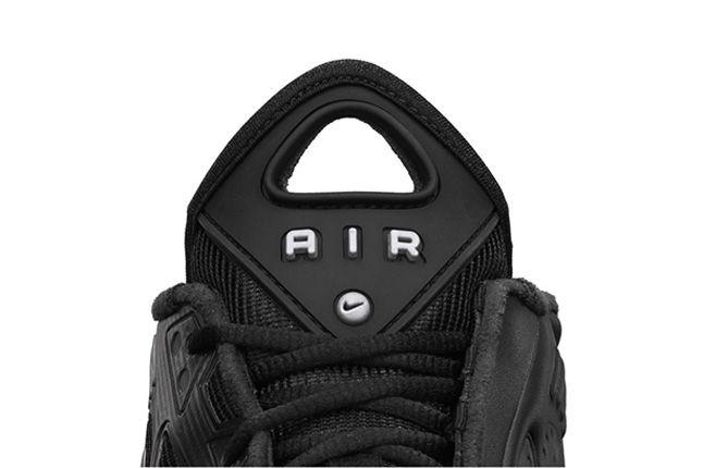 Nike Air Max Pillar Black Metallic Silver Tongue 1