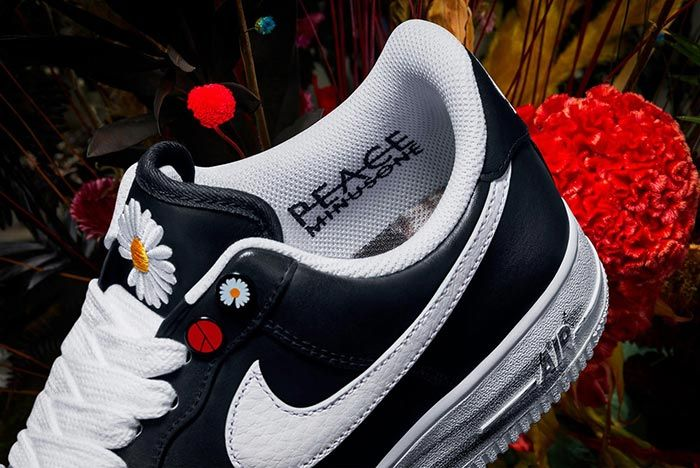 G Dragon Nike Air Force 1 Peaceminusone Para Noise Inner Shot