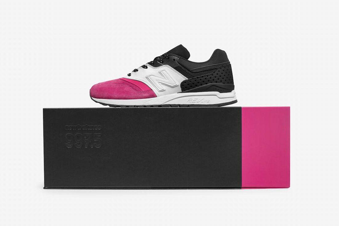 Phantaci New Balance 997 5 Pink White Black 4