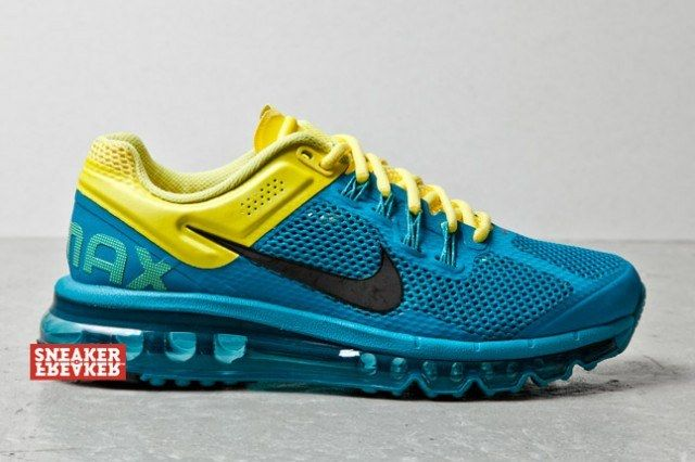 Nike Wmns Air Max Plus 2013 Tropical Teal Sonic Yellow 1 1 640X426