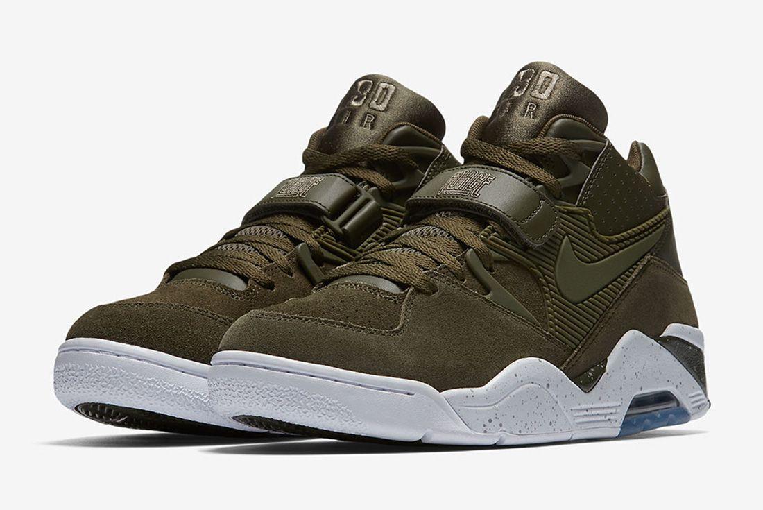 Nike Air Force 180 Olive Sneaker Freaker 6