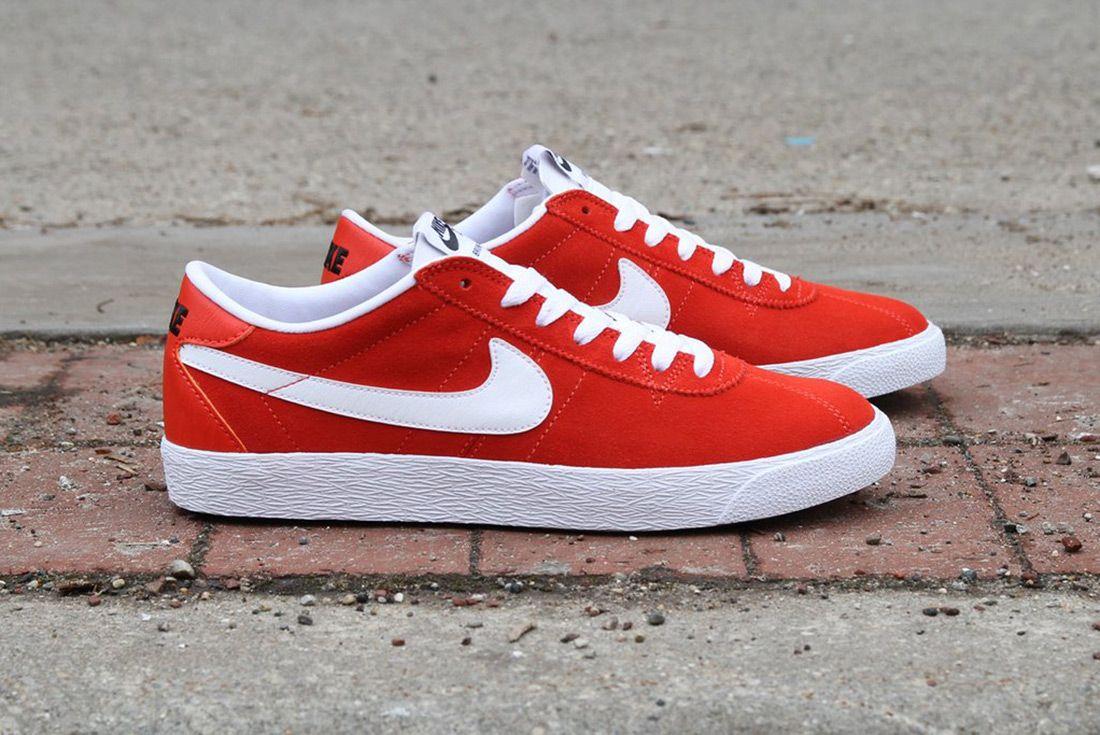 Nike Sb Zoom Bruin Premium Se Max Orange