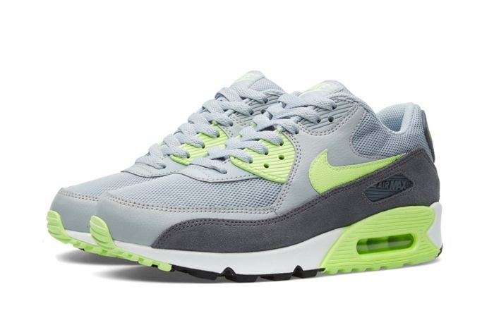 Nike Am90 Wmns Wolf Grey Ghost Green 1