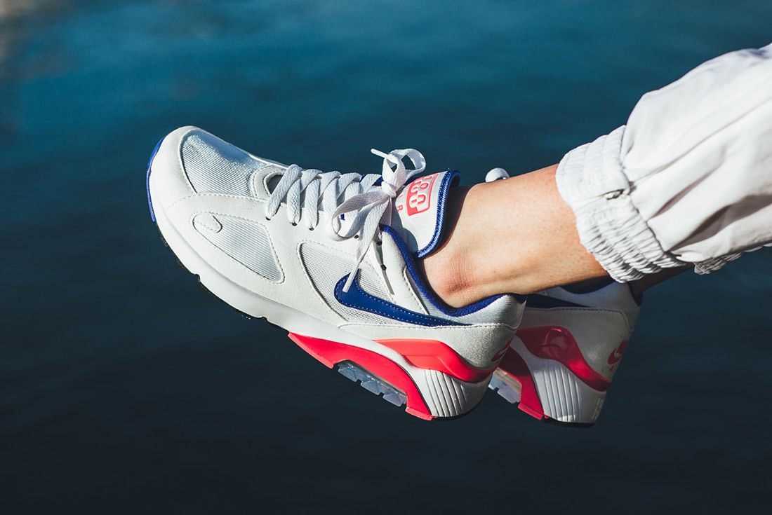 Nikeair Max 180 2018 Ultramarine On Foot 5