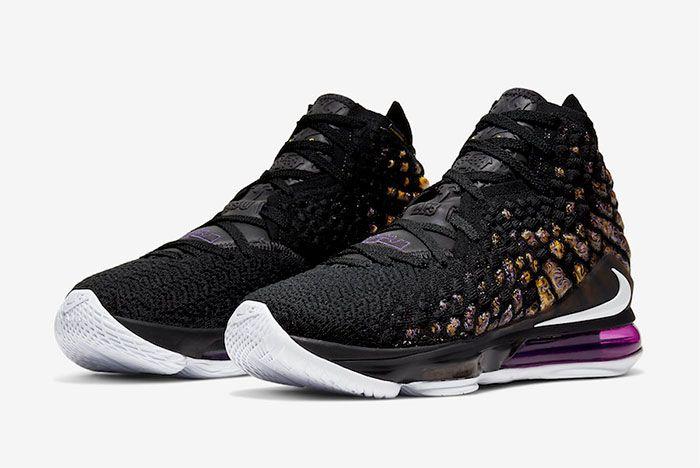 Nike Lebron 17 Lakers Toe