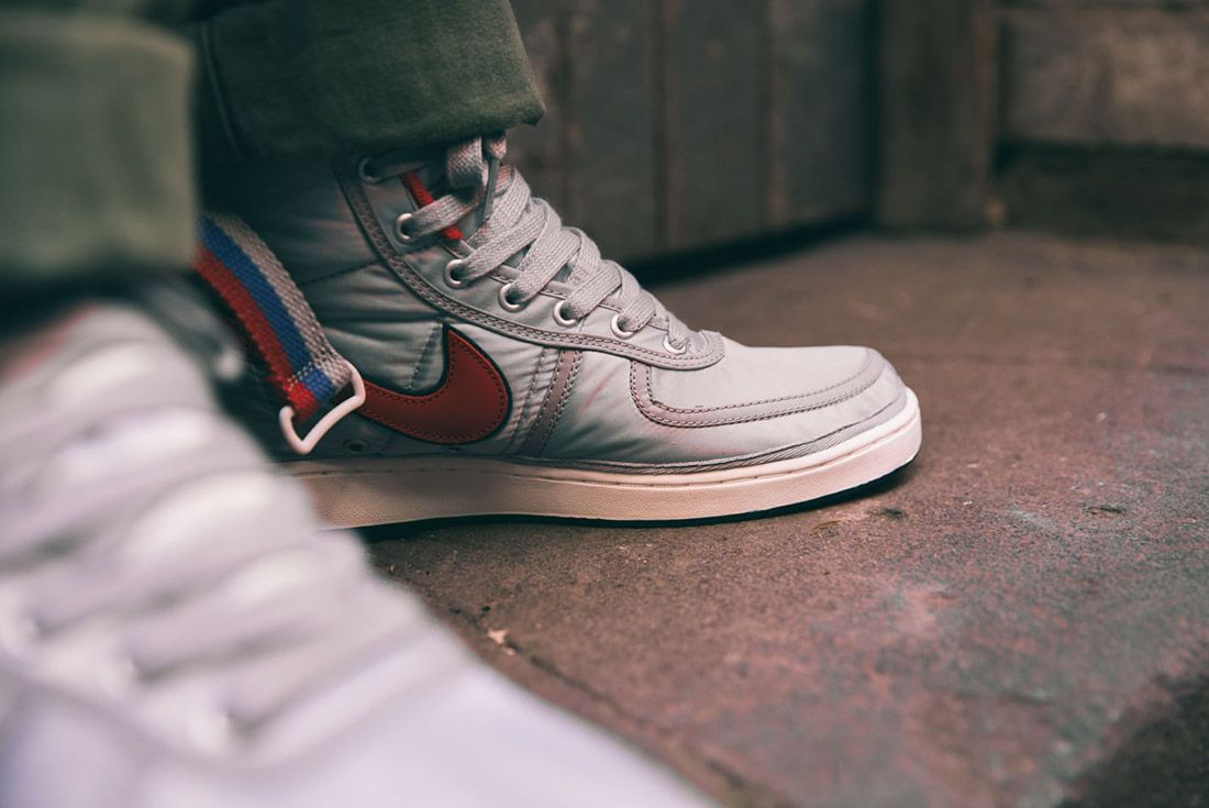 Nike Vandal High Supreme Qs Metallic Silver 5