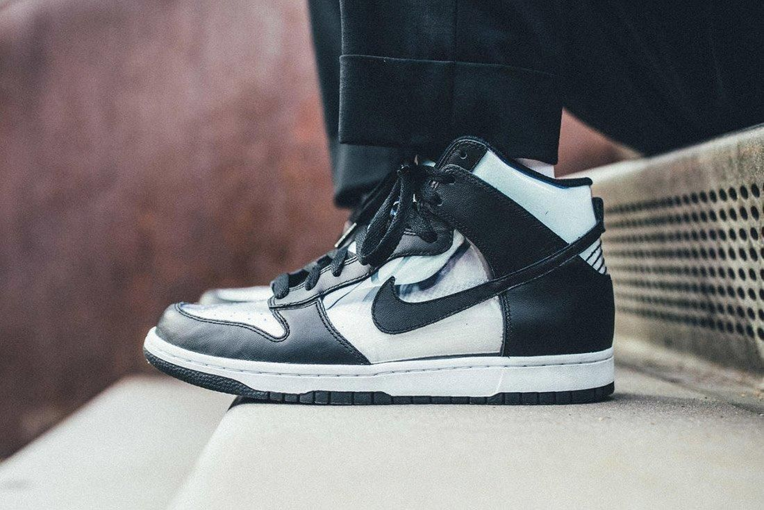 Comme Des Garcons Nike Dunk Invisible 1
