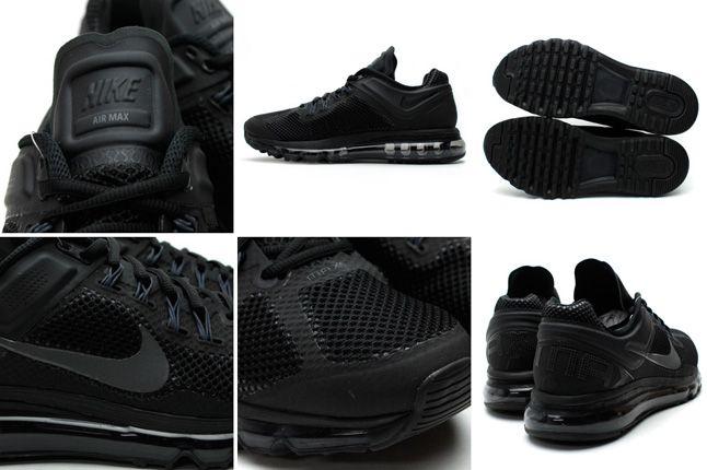 Nike Air Max 2013 Black Details 1