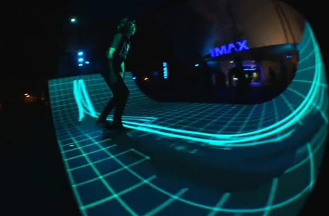 Tron Skateboard Ramp Sf 1