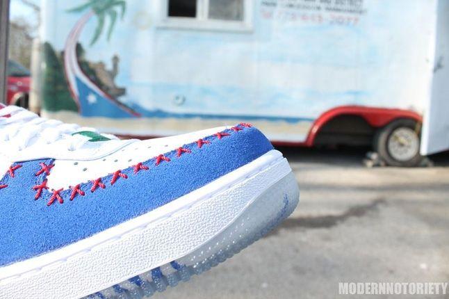 Nike Af1 Puerto Rico Toe Detail 1