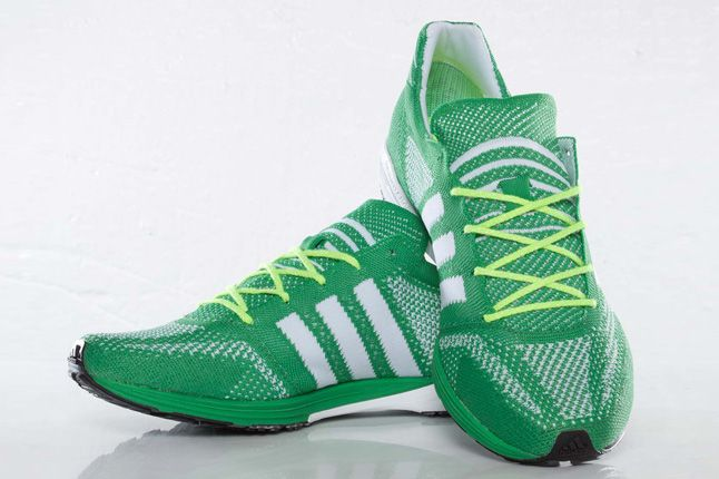 Adidas Primeknit Olympics Prime Green Pair 1