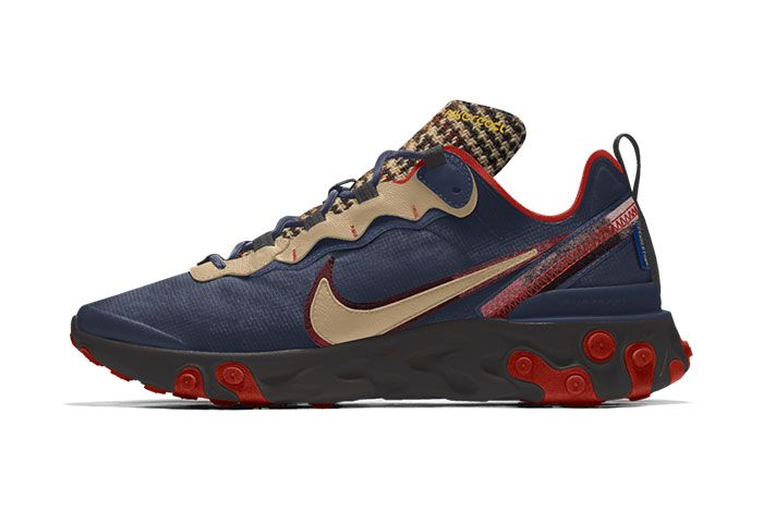 Nike React Element Pendleton By You Release Date 01