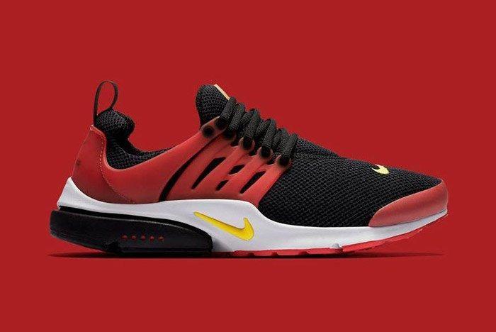 Nike Air Presto Black Red Bred 2