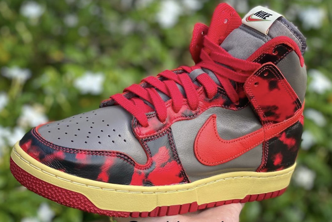 Nike Dunk High 'Red Camo'
