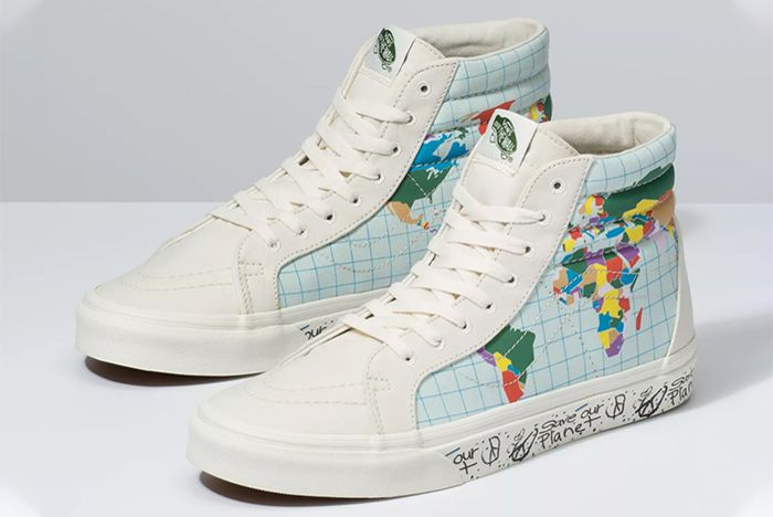 Vans Sk8 Hi Reissue Save Our Planet Colour