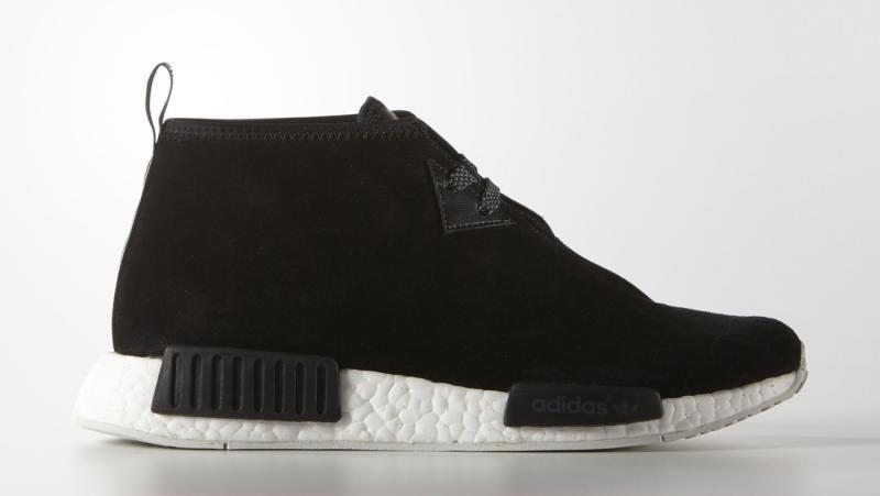 Adidas Chukka Boost Black