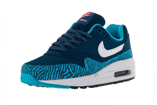 Nike Air Max 1 Gs Brave Blue Tiger 1