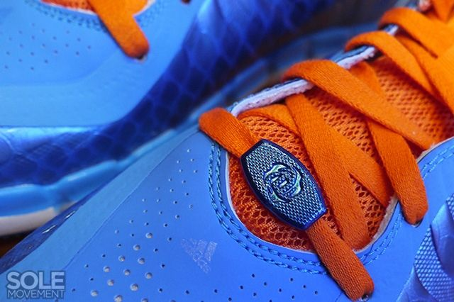 Adidas D Rose Englewood 2 Blue Orange 3
