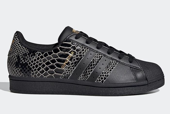 Adidas Superstar Snakeskin Fv3290 Lateral
