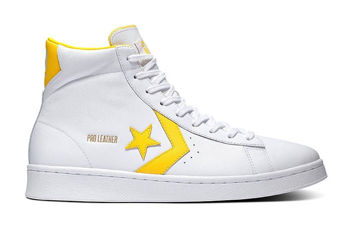 Pro Leather Og Colour Block Hi Yellow £75