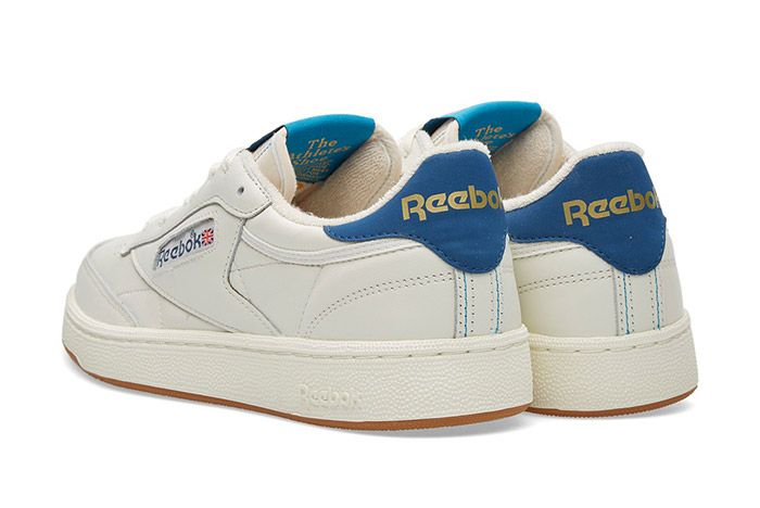 Reebok Club C 85 Retro Chalk White Gum Blue 5