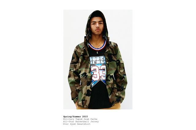 Supreme Spring Summer 2015 Lookbook 1