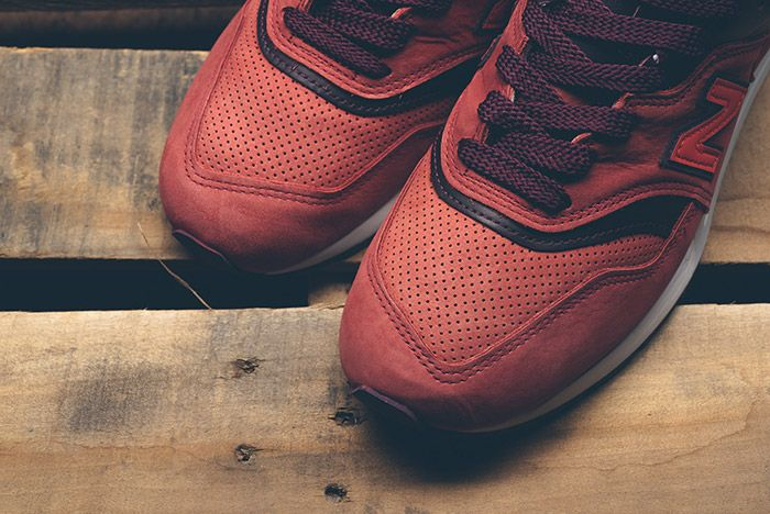 New Balance Horween 997 Red Clay 4
