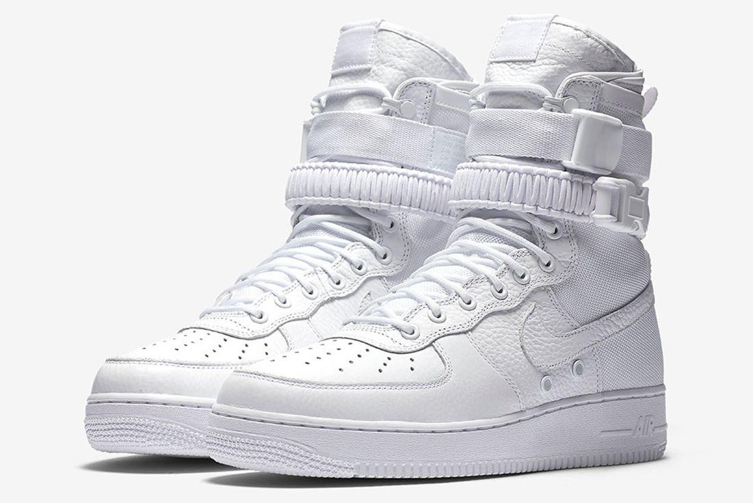 Nike Sf Af1 Triple White