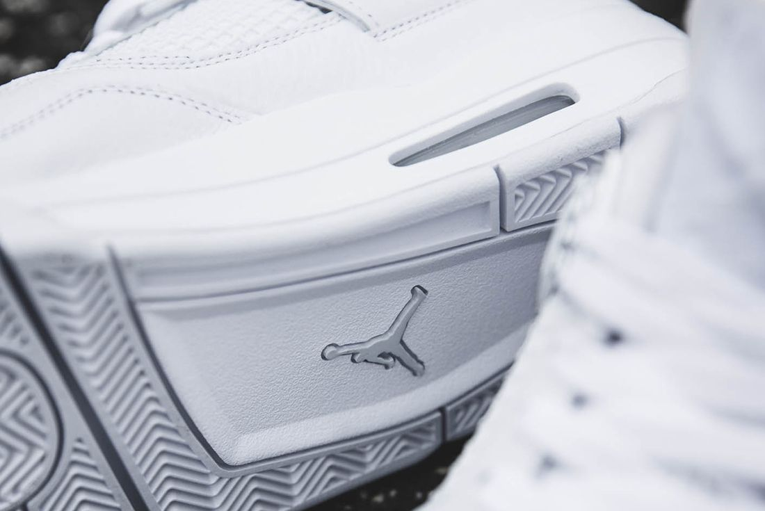 Up Close With The Air Jordan 4 Pure Money