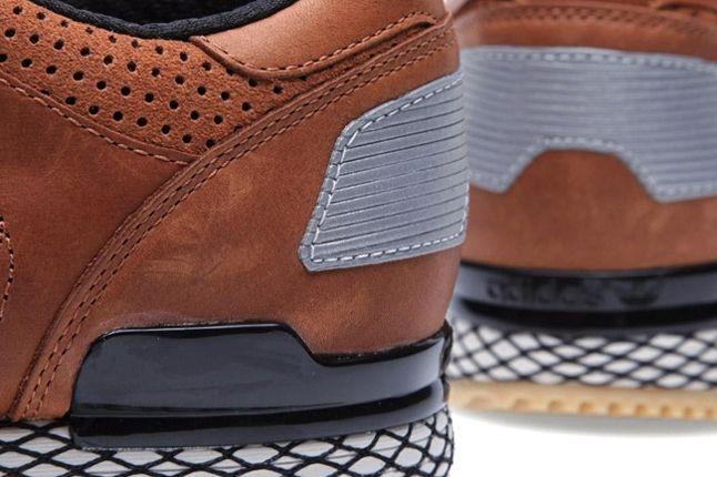 Adidas Originals Zx 700 Gum And Perf Pack Brown Heel 1