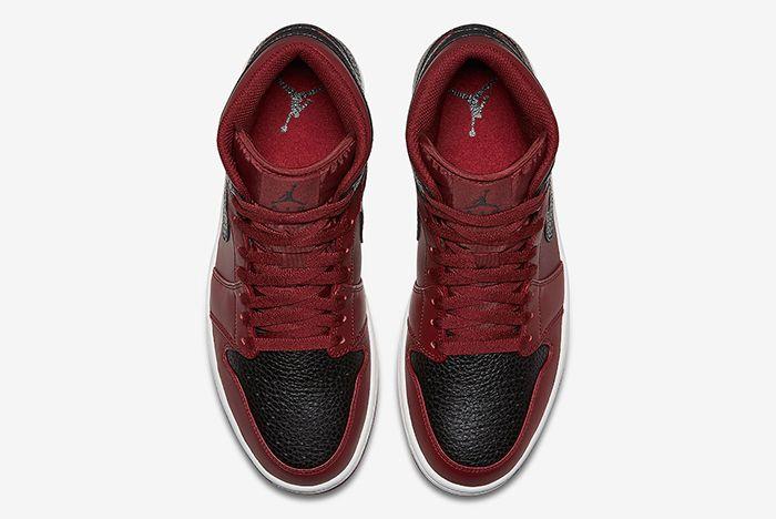 Air Jordan 1 Mid Reverse Bred Sneaker Freaker 4