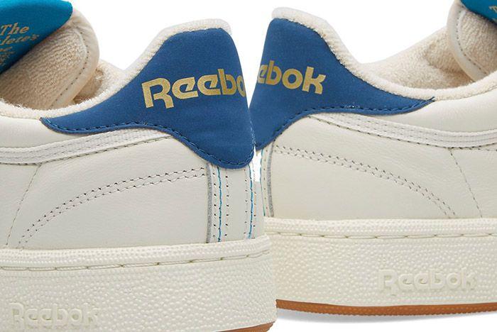 Reebok Club C 85 Retro Chalk White Gum Blue 3