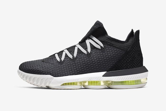 Nike Lebron 16 Low Black Python Lateral