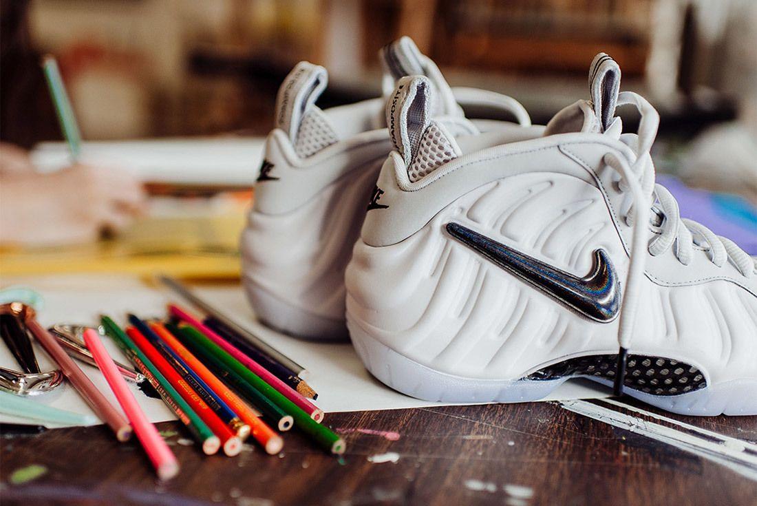 Nike Air Foamposite Pro All Star Interchangeable Swoosh Sneaker Freaker 10