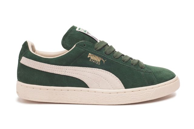 Puma States Green Sideview