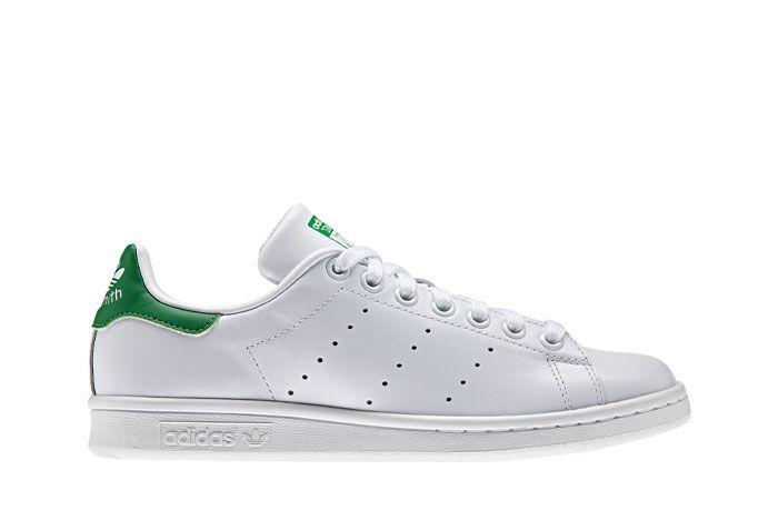 Adidas Stan Smith White Green Lateral
