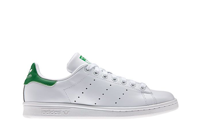 Adidas Stan Smith White Green Lateral