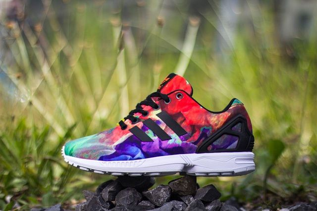 Adidas Zx Flux Water Colour 2