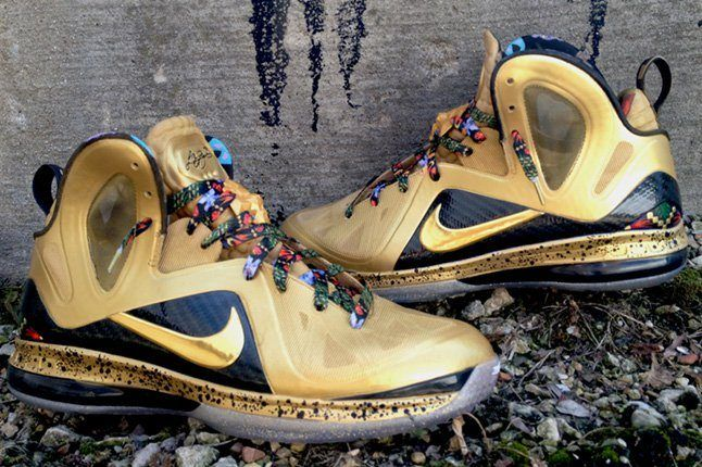 Dejesus Customs Lebron 9 Elite Unwatch The Throne 3