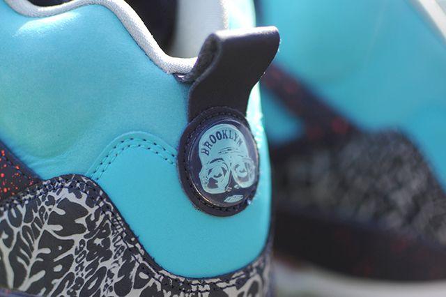 Air Jordan Spizike Turquoise Blue 5